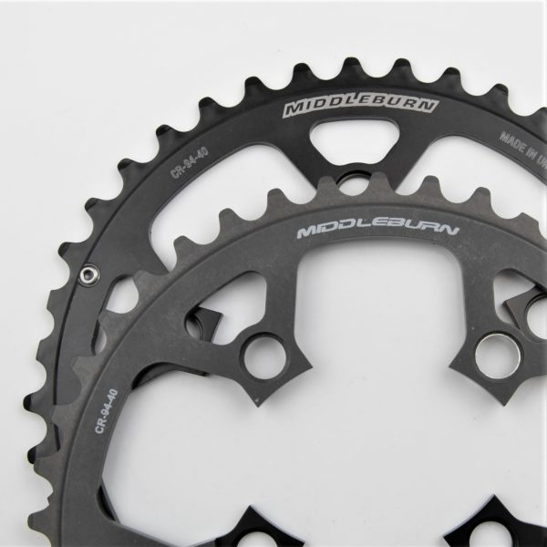 MIDDLEBURN BICYCLE CHAINRING 94BCD 5-ARM OUTER SLICKSHIFT 9/10 SPEED