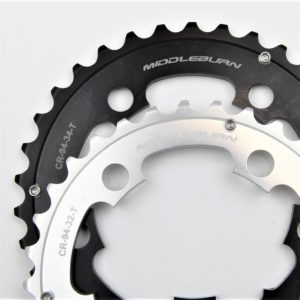 MIDDLEBURN CHAINRING 94BCD 5-ARM MIDDLE SLICKSHIFT 9/10 SPEED