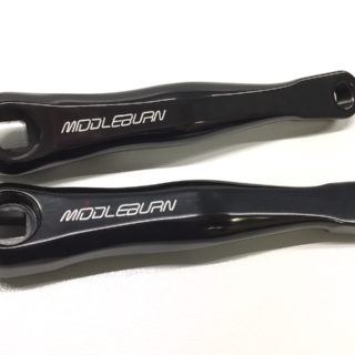 MIDDLEBURN RS7 SQ TANDEM REAR SQUARE TAPER BICYCLE CRANKS