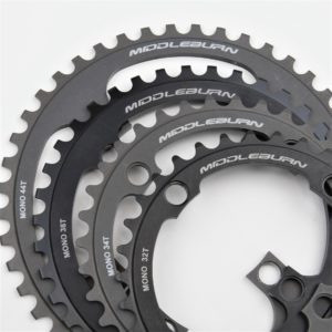 MIDDLEBURN MONO BIKE CHAINRING 104BCD 4-ARM 90 ID
