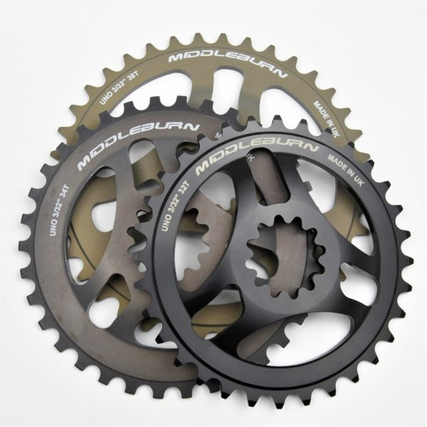 MIDDLEBURN RS8 X-TYPE UNO SPIDER CHAINRING