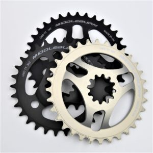 MIDDLEBURN BIKE CHAINRING RS8 X-TYPE UNO TT THICK/THIN SPIDER